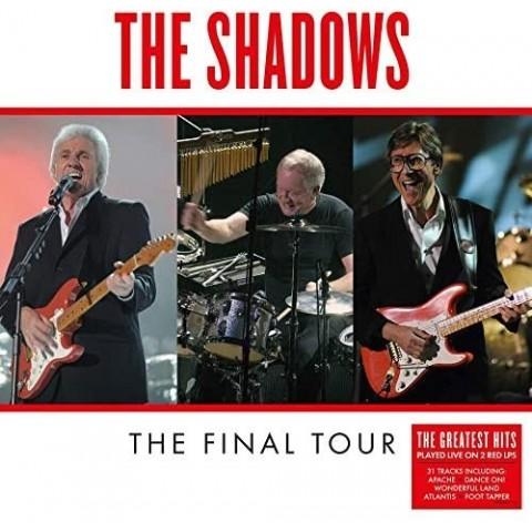 THE SHADOWS - FINAL TOUR LP - DOUBLE RED VINYL