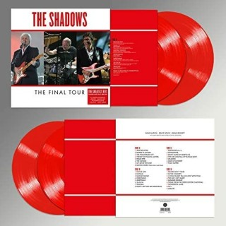 SHADOWS - FINAL TOUR - DOUBLE RED VINYL