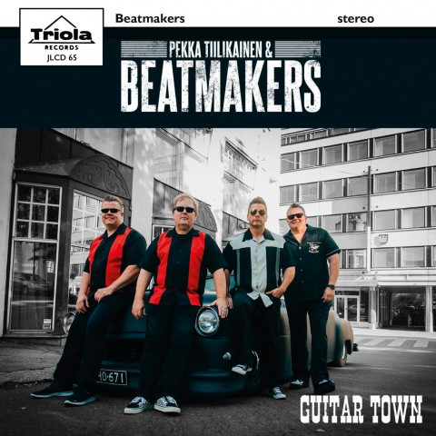 PEKKA TIILIKAINEN AND THE BEATMAKERS - GUITAR TOWN - TRIOLA - IMPORT