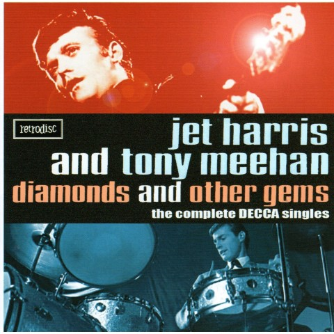 JET HARRIS & TONY MEEHAN - DIAMONDS AND OTHER GEMS - THE COMPLETE DECCA SINGLES - CD