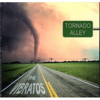 CD - THE VIBRATOS (Warren Bennett & Dick Plant) - TORNADO ALLEY