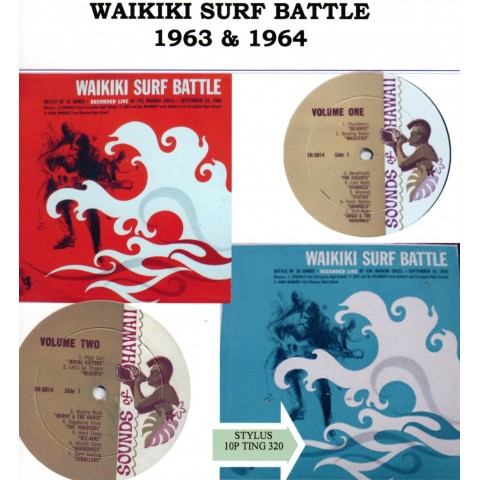 WAIKIKI SURF BATTLE 1963 & 1964 - CD STYLUS
