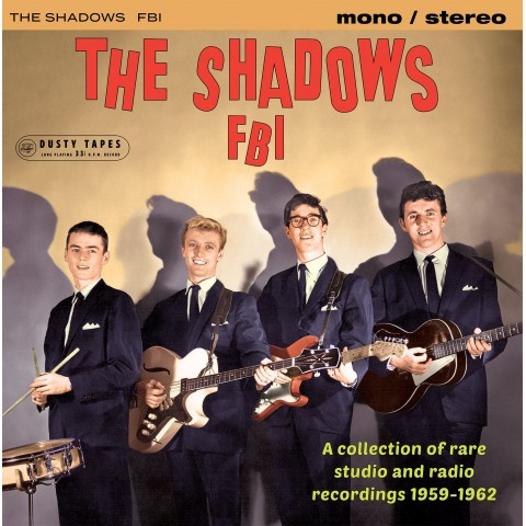 GREEN VINYL- THE  SHADOWS - FBI