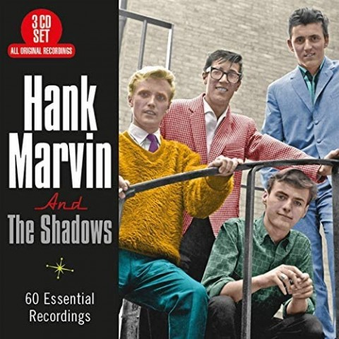 CANCELLED - HANK MARVIN AND THE SHADOWS - 60 ESSENTIAL RECORDINGS - 3CD
