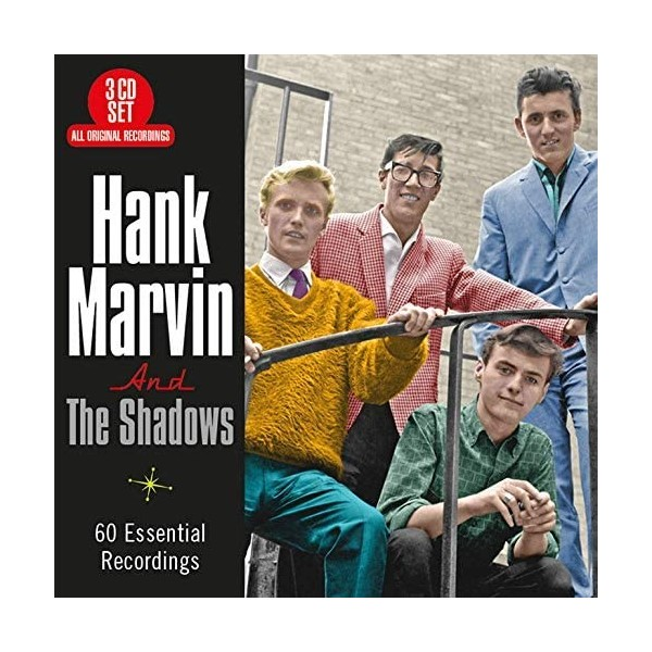 HANK MARVIN AND THE SHADOWS - 60 ESSENTIAL RECORDINGS - 3CD