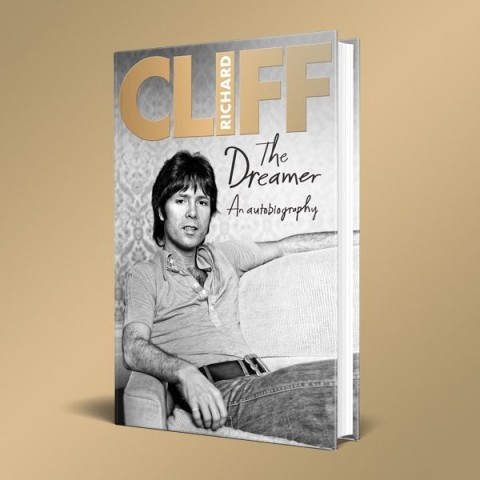 CLIFF RICHARD - THE DREAMER - BOOK
