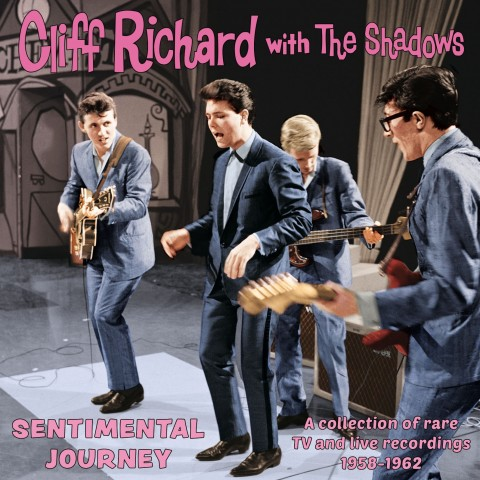 CLIFF RICHARD WITH THE SHADOWS - SENTIMENTAL JOURNEY - CD IMPORT