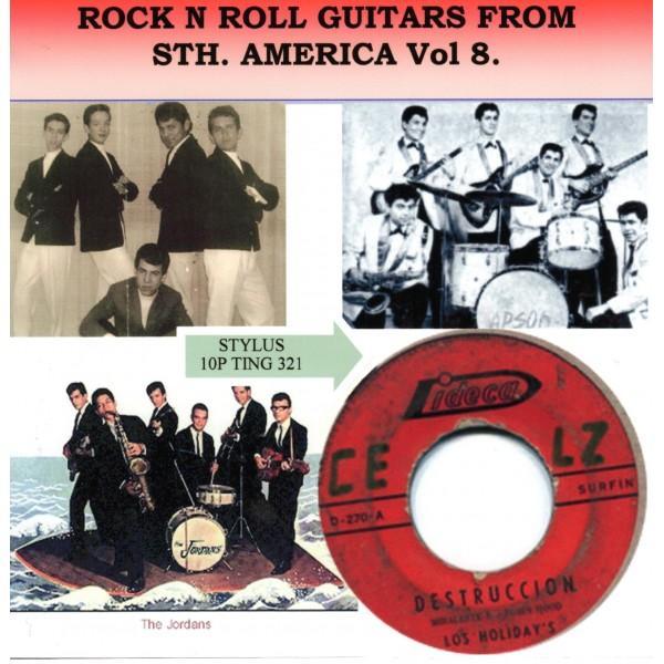 ROCK N ROLL GUITARS FROM STH. AMERICA Vol 8 - CD STYLUS