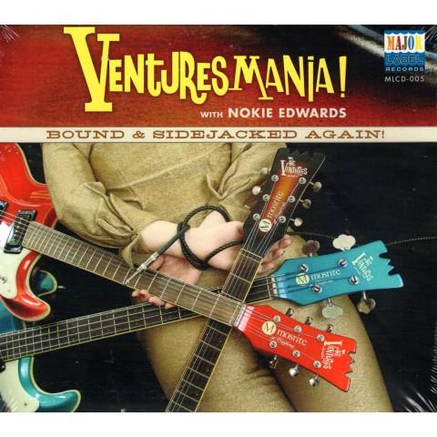 VENTURESMANIA - BOUND & SIDEJACKED AGAIN - IMPORT CD
