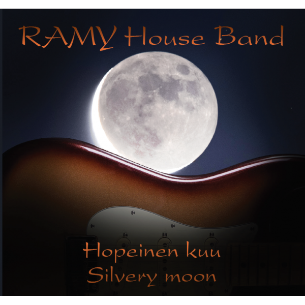 RAMY HOUSE BAND - SILVERY MOON - CD - IMPORT