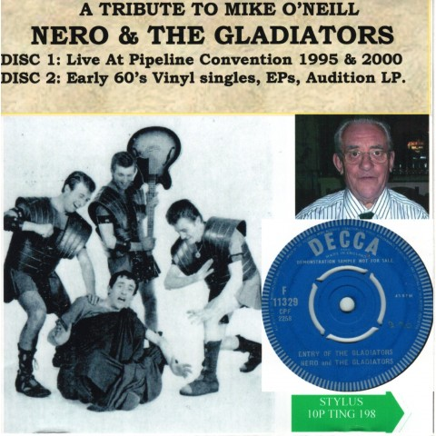 A TRIBUTE TO MIKE O'NEILL - NERO AND THE GLADIATORS - 2CD STYLUS