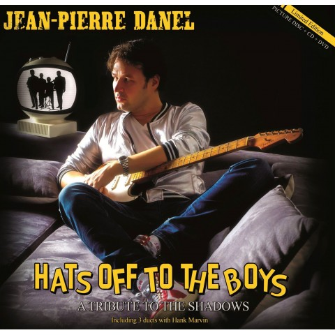 JEAN-PIERRE DANEL - HATS OFF TO THE BOYS -  LP CD DVD SET