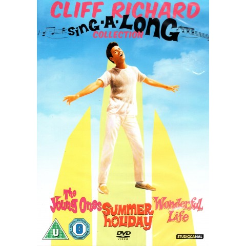CLIFF RICHARD & THE SHADOWS - SING-A-LONG COLLECTION - Young Ones/Summer Holiday/Wonderful Life - DVD