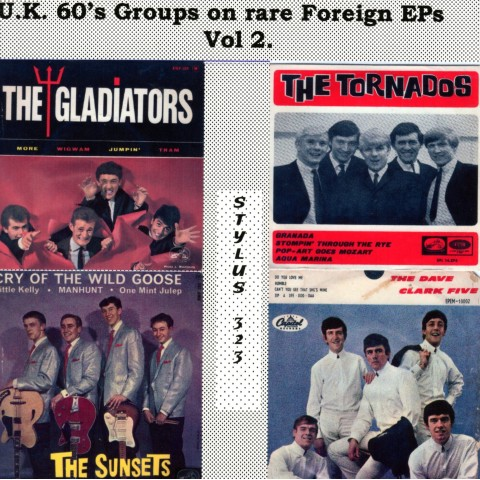 UK 60's GROUPS ON RARE FOREIGN EPs VOL 2 - STYLUS  - CD