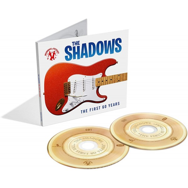PRE ORDER  THE SHADOWS - THE FIRST 60 YEARS - 2 CD