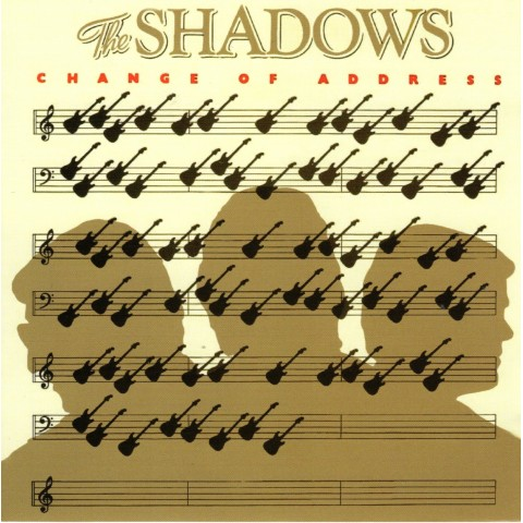 THE SHADOWS - CHANGE OF ADDRESS - CD
