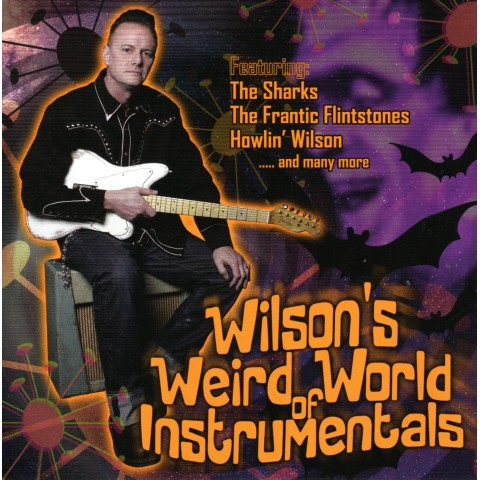 WILSON'S WEIRD WORLD OF INSTRUMENTALS - CD