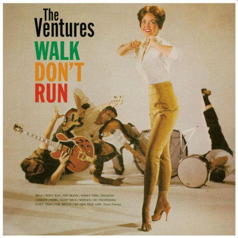 PRE-ORDER - THE VENTURES - WALK DON'T RUN - IMPORT CD