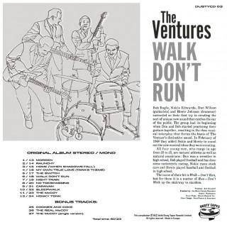 THE VENTURES - WALK DON'T RUN - IMPORT CD