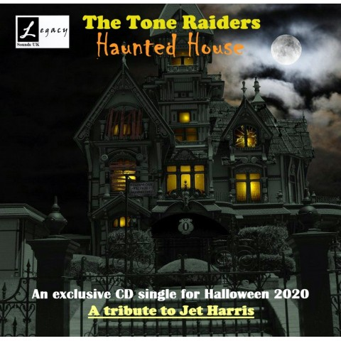 TONE RAIDERS - HAUNTED HOUSE - CD SINGLE