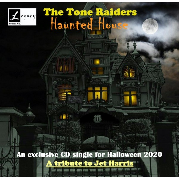 TONE RAIDERS - HAUNTED HOUSE - CD SINGLE