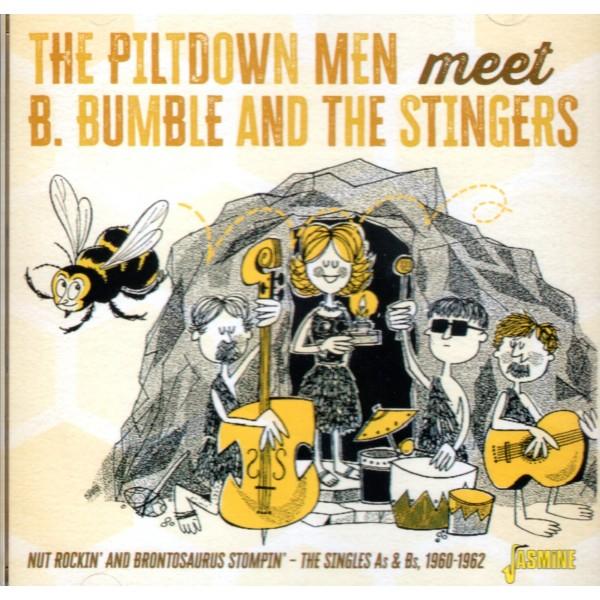 THE PILTDOWN MEN MEET B.BUMBLE AND THE STINGERS - CD