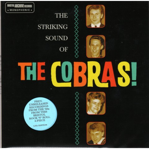 THE COBRAS - STRIKING SOUND OF - CD