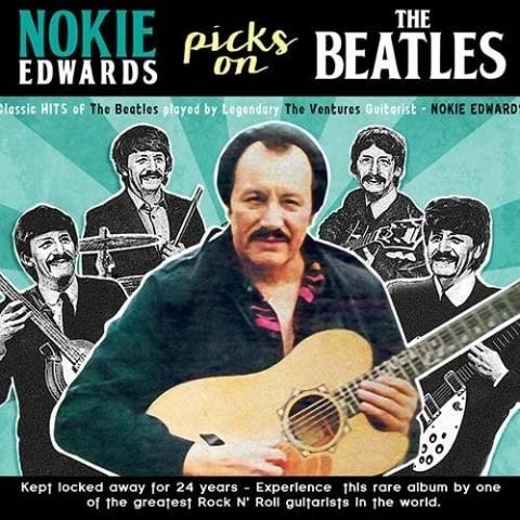NOKIE EDWARDS - PICKS ON THE BEATLES - IMPORT - CD