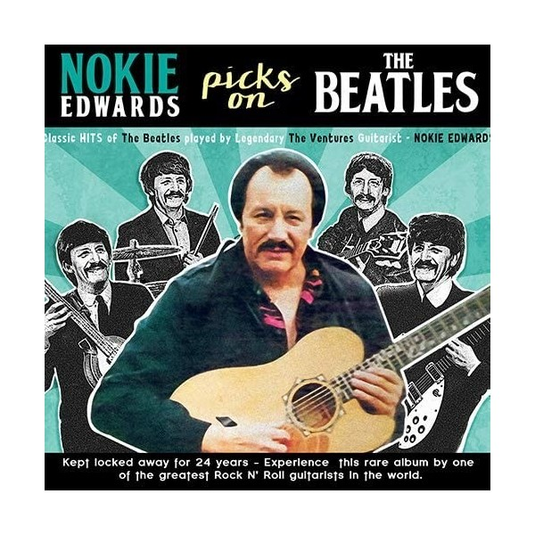 NOKIE EDWARDS - PICKS THE BEATLES - IMPORT - CD