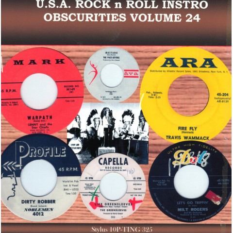 USA OBSCURITIES VOL 24 - STYLUS CD