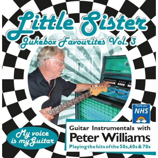 PRE-ORDER - PETER WILLIAMS -LITTLE SISTER - JUKEBOX VOL 3 - CD