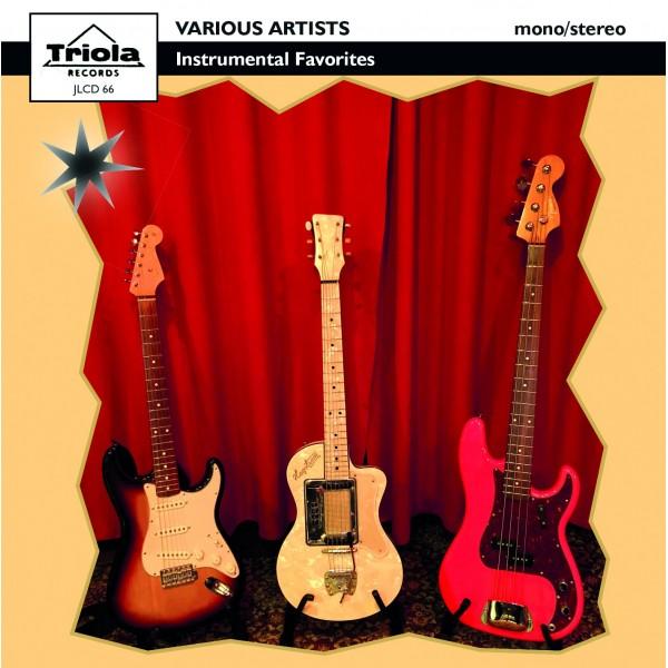 PREORDER: GUITAR INSTRUMENTALS - TRIOLA - CD