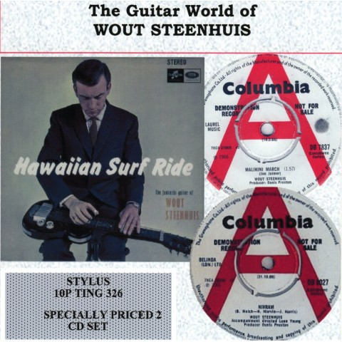 THE GUITAR WORLD OF WOUT STEENHUIS - STYLUS - 2CD