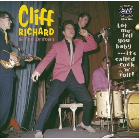 """CLIFF RICHARD - LET ME TELL YOU BABY IT'S CALLED ROCK 'N' ROLL - 10"""" LP VINYL"""