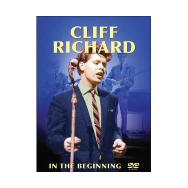 DVD - CLIFF RICHARD - IN THE BEGINNING