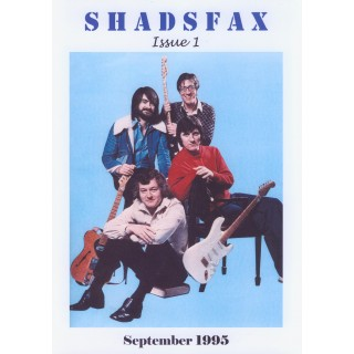 SHADSFAX ISSUE 1 - AVAILABLE NOW TO DOWNLOAD DIRECT FROM TONY HOFFMAN