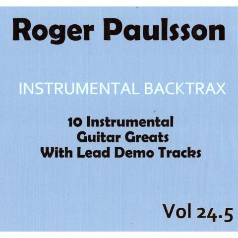 ROGER PAULSSON - INSTRUMENTAL BACKTRAX VOL 24.5 CD BACKING TRACK