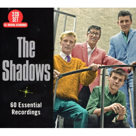 THE SHADOWS - 60 ESSENTIAL RECORDINGS - 3CD