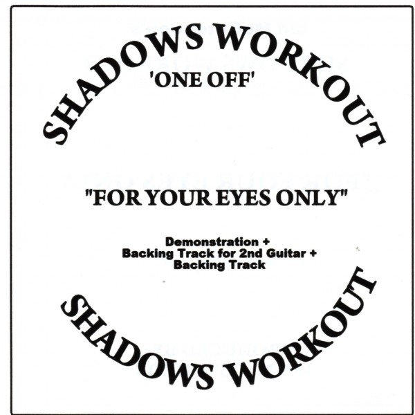 IAN MCCUTCHEON - FOR YOUR EYES ONLY  3 TRACK -  BACKING TRACK CD