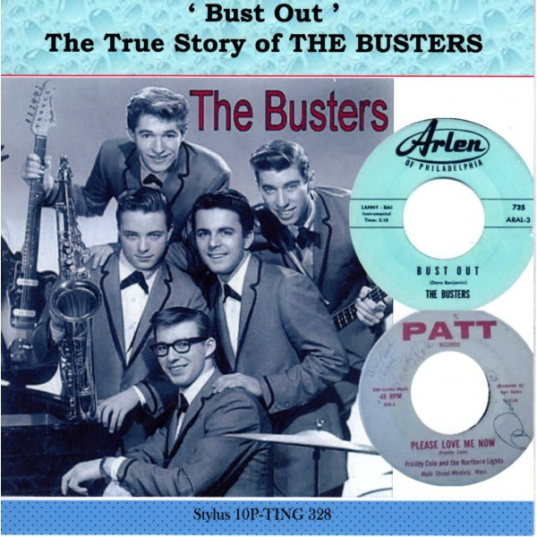 PRE-ORER:  THE BUSTERS - BUST OUT, TRUE STORY OF THE BUSTERS - STYLUS CD