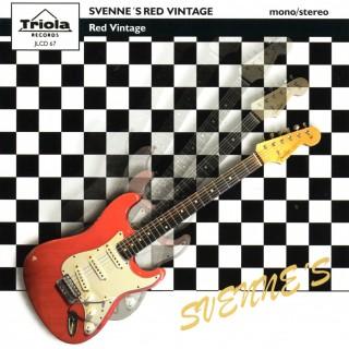 SVENNE'S RED GUITAR - RED VINTAGE - TRIOLA CD