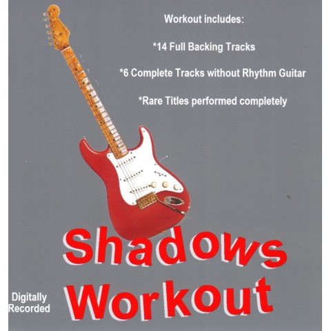 IAN MCCUTCHEON - SHADOWS WORKOUT 1- BACKING TRACK - CD