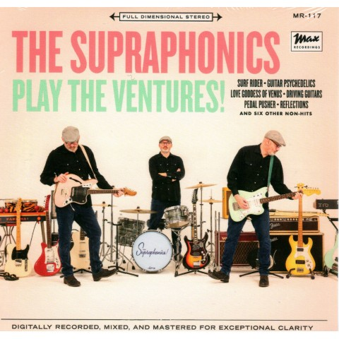 THE SUPRAPHONICS - PLAY THE VENTURES - US IMPORT CD