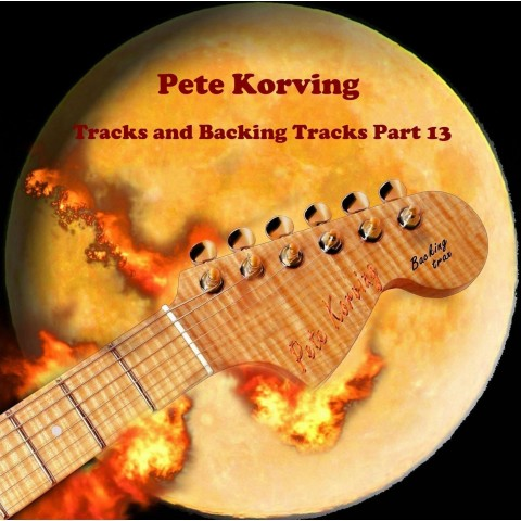 PETE KORVING - BACKING TRACK VOL 13 - IMPORT CD
