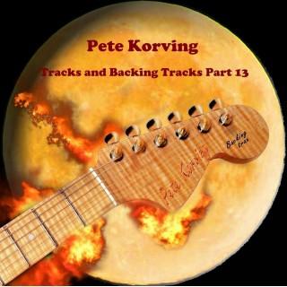 PETE KORVING - BACKING TRACK VOL 13 - IMPORT CD