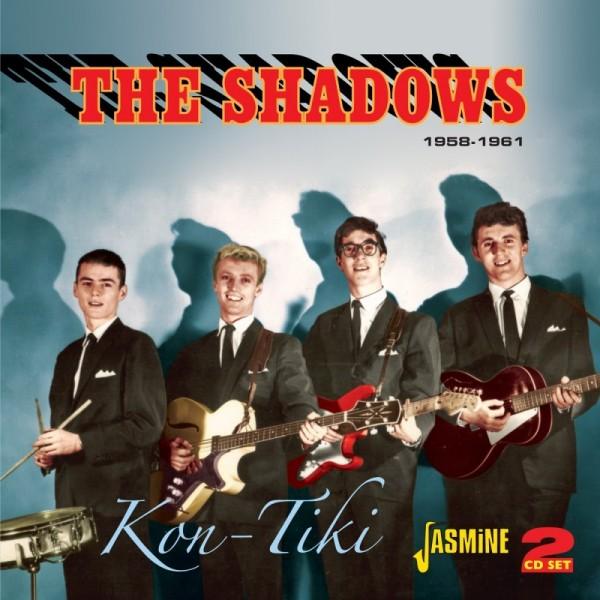 2CD - THE SHADOWS - KON TIKI 1958-1961 2-CD