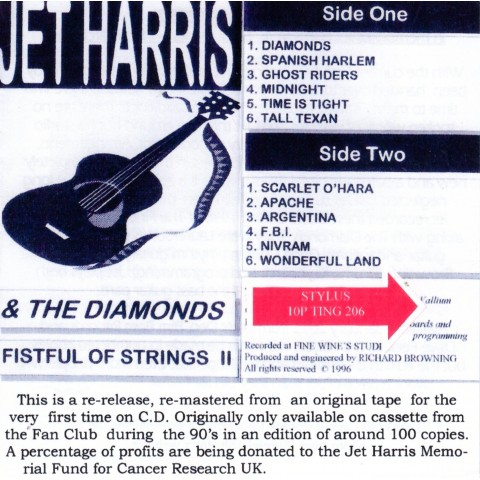 JET HARRIS - FISTFULL OF STRINGS II - CD