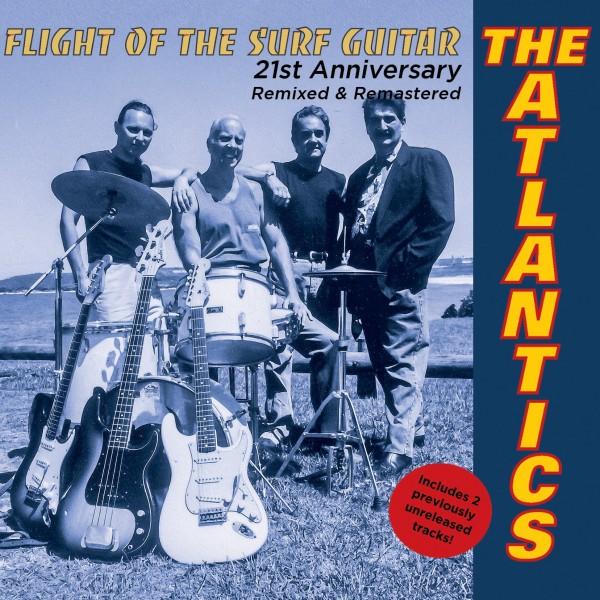 PREORDER - ATLANTICS - CILIA - FLIGHT OF THE SURF GUITAR - CD
