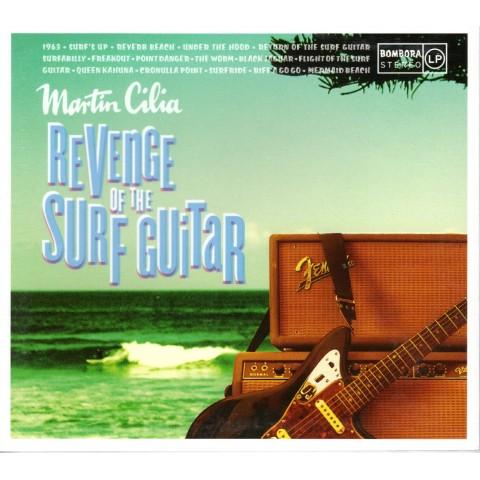MARTIN CILIA - REVENGE OF THE SURF GUITAR - CD - IMPORT