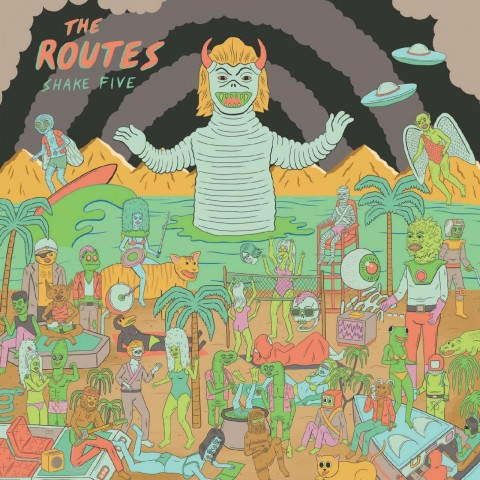THE ROUTES - SHAKE 5 - CD IMPORT